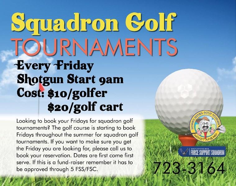 Squadron Golf Tournaments