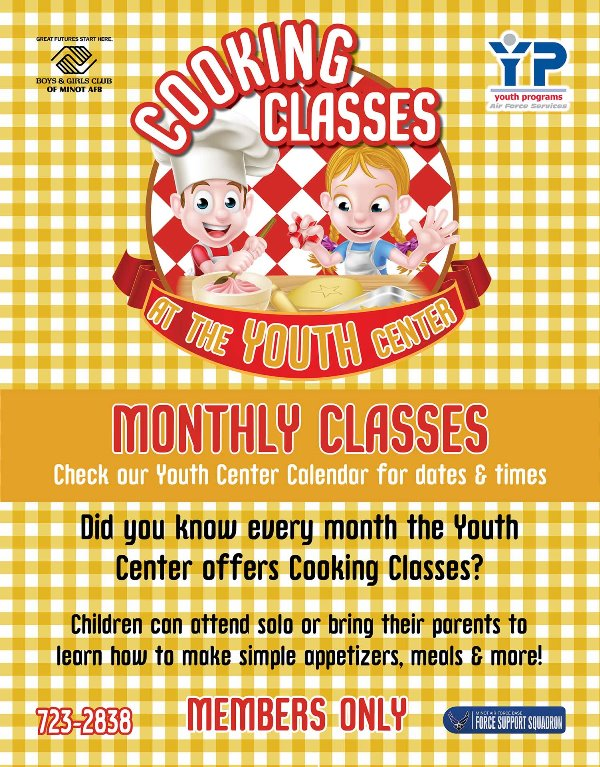 Youth Cooking Classes