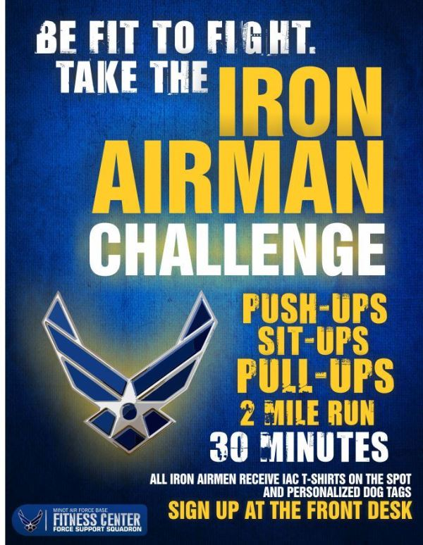 Iron Airman Challenge
