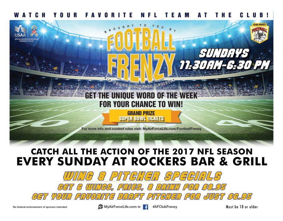 NFL Sunday Ticket Football Frenzy