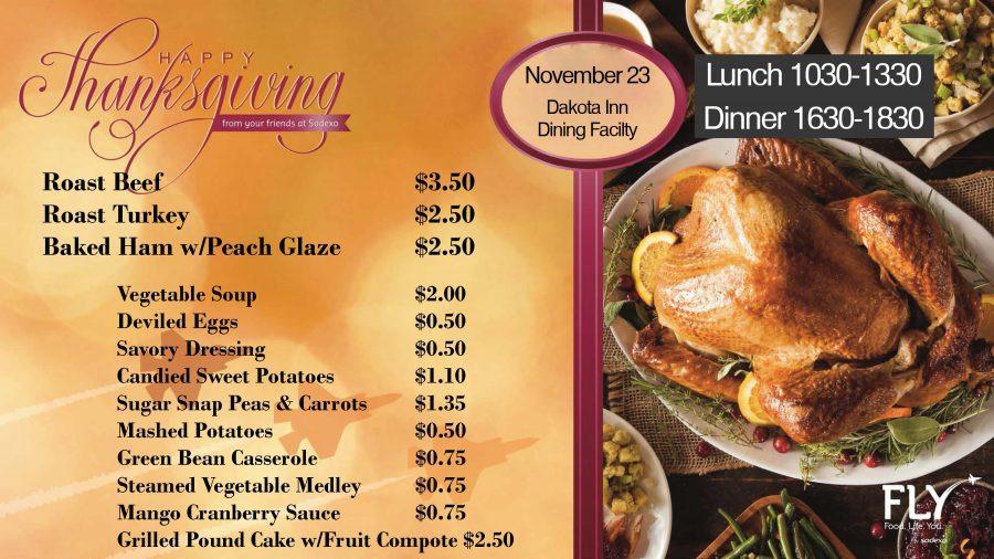 Dakota Inn Thanksgiving Lunch