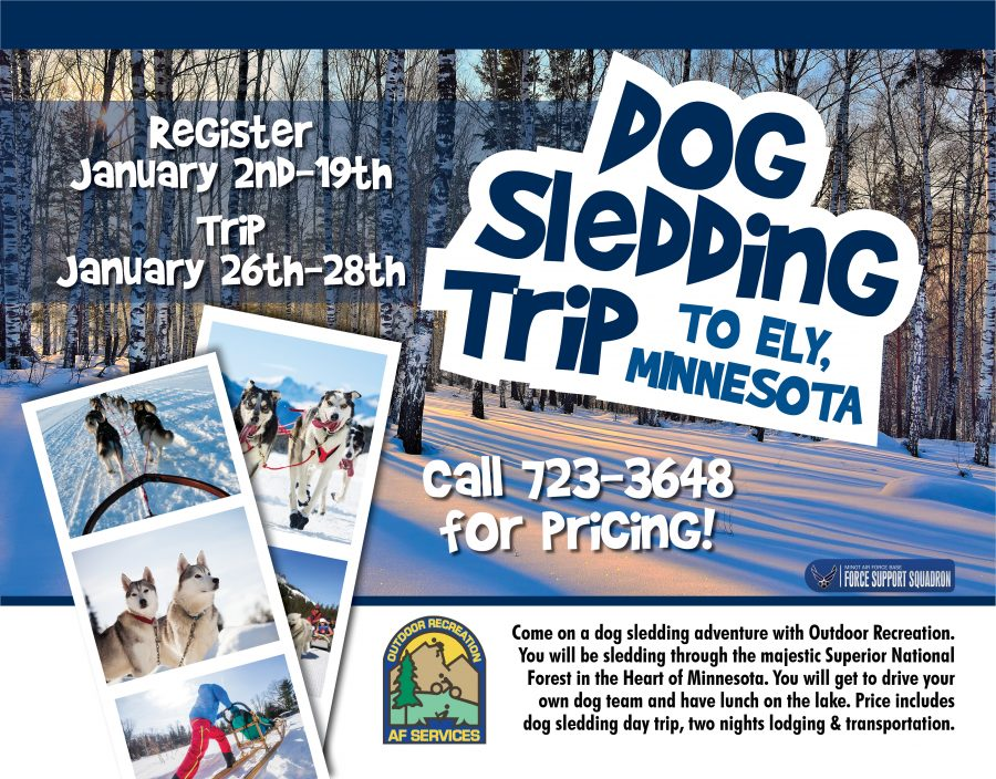 Registration Opens for the Dog Sledding Trip to Minnesota at Outdoor Rec