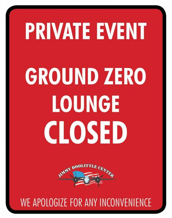 Private Holiday Party - Ground Zero Lounge Closed