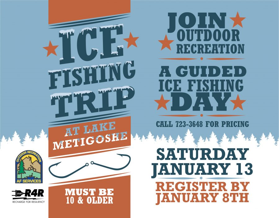 Last day to register for the Ice Fishing Trip to Metigoshe