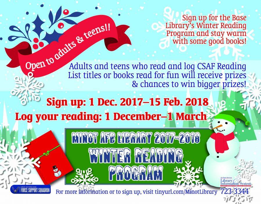 Winter Reading Program Starts