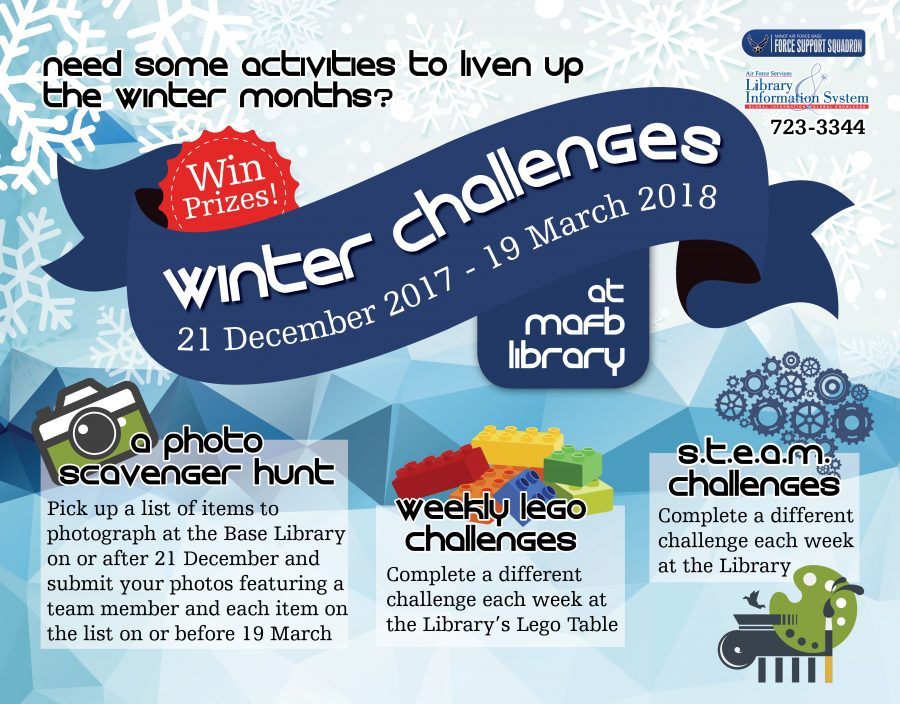 Library Winter Challenges Start