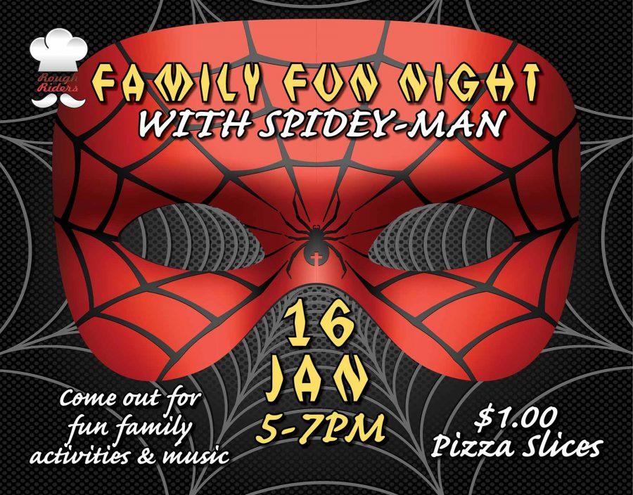 Family Fun Night with Spidey-Man