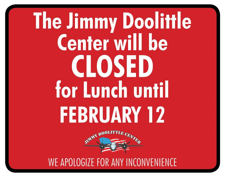 JDC Closed for Lunch Service