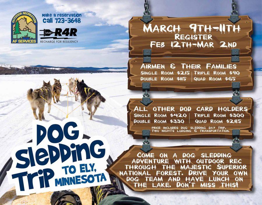 Dog Sledding Trip to MN