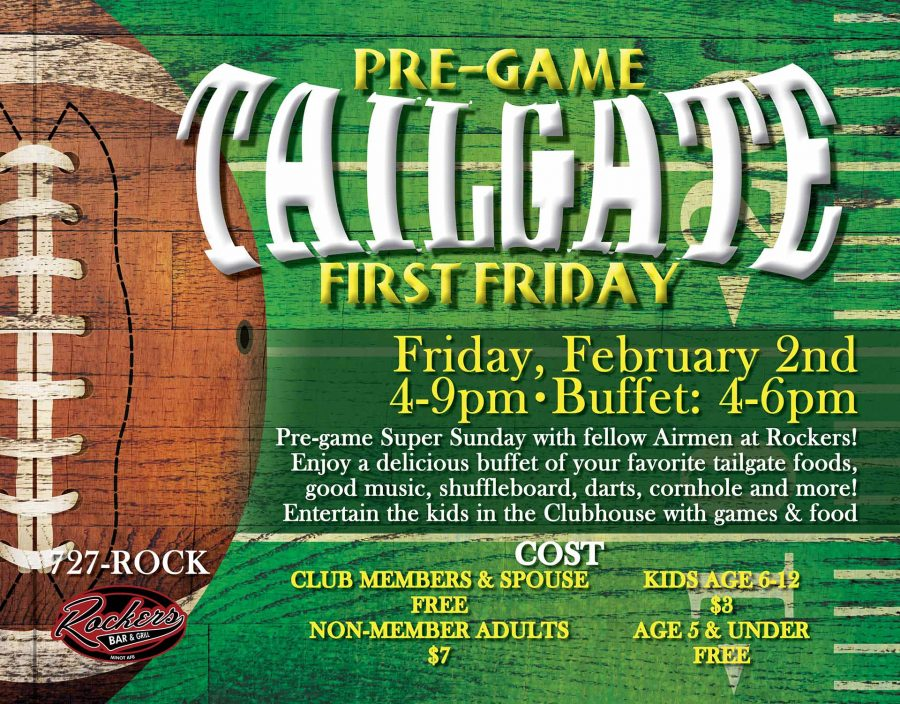 First Friday @ Rockers Bar & Grill