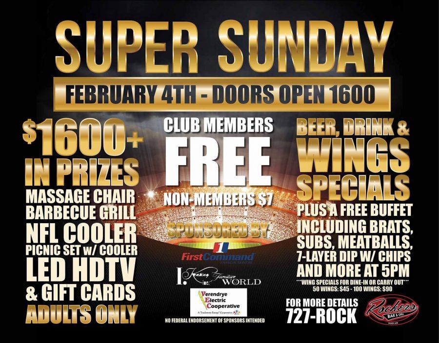 Super Sunday at Rockers