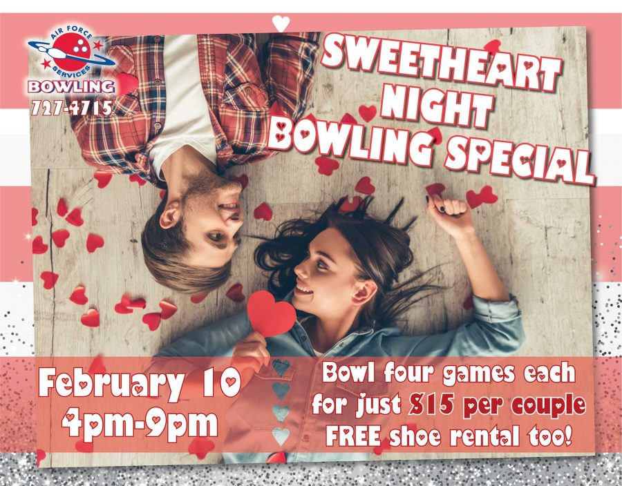 Sweetheart Night Bowling Special