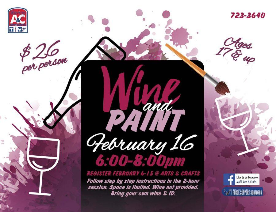 Wine & Paint Class