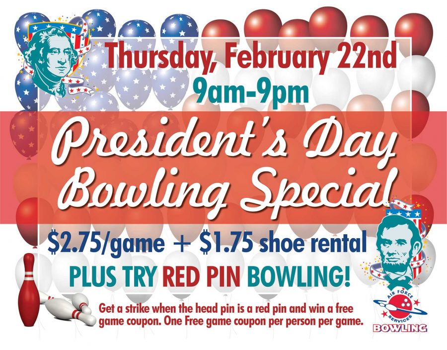 President's Day Bowling Special