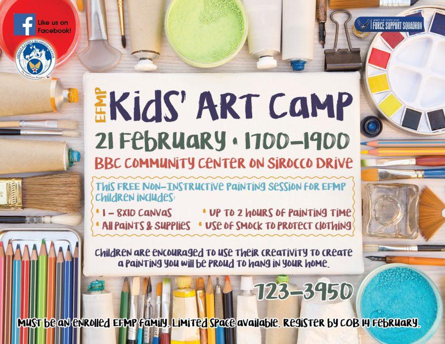 EFMP Kids Art Camp