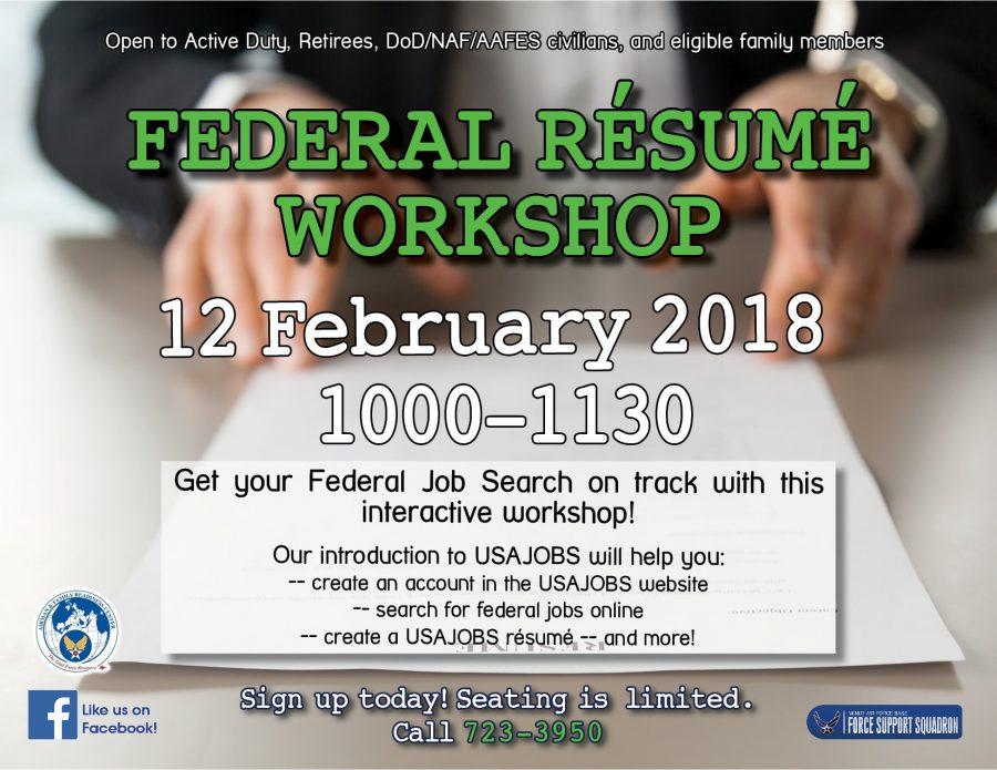 Federal Résumé Workshop