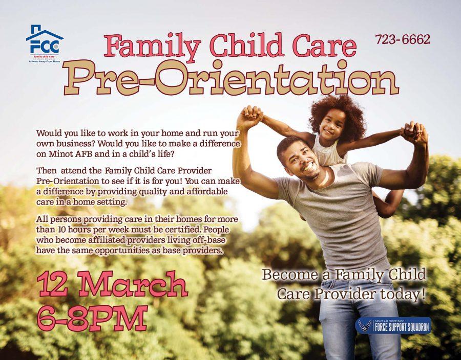 Family Child Care Pre-Orientation