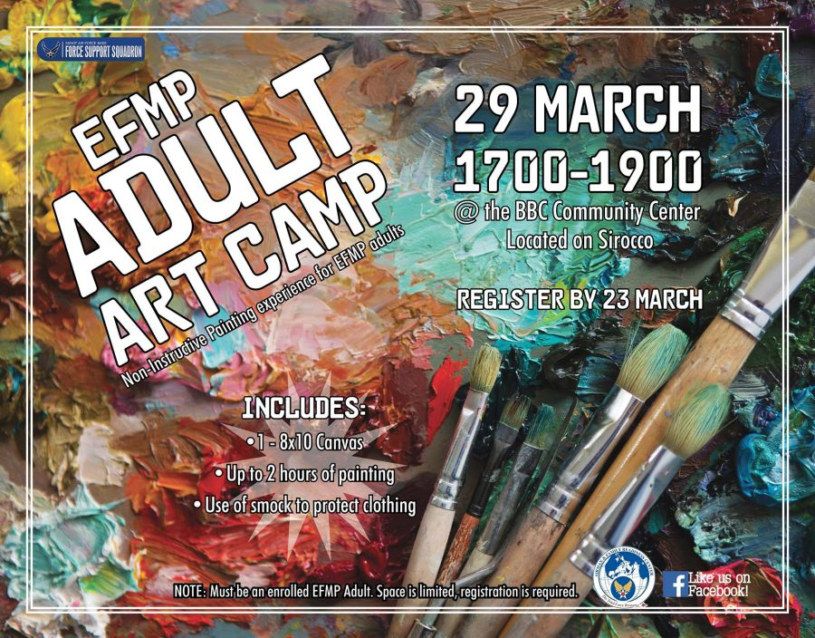 EFMP Adult Art Camp