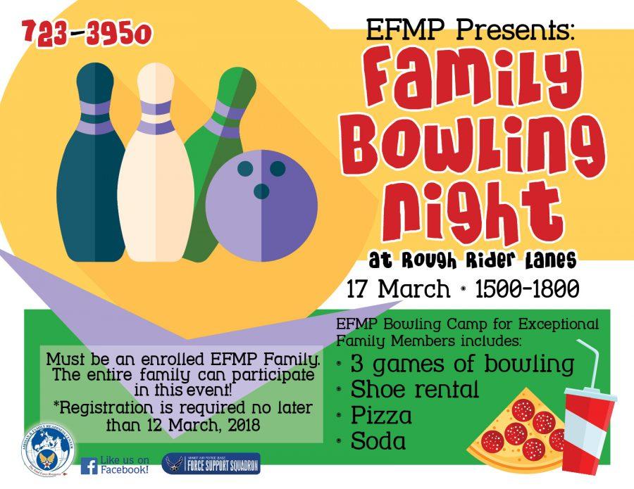 EFMP Family Bowling