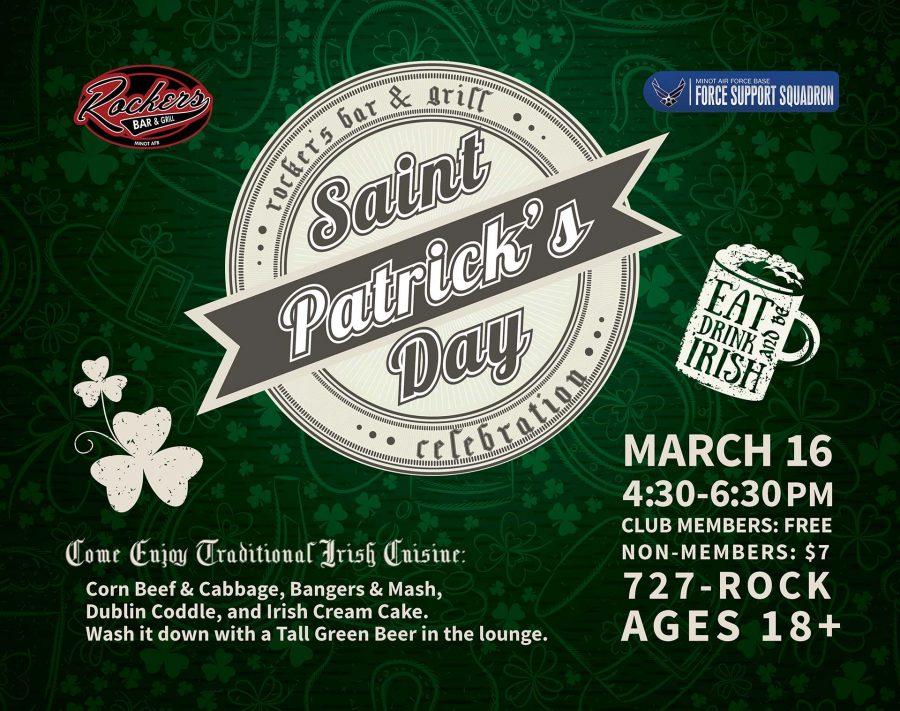 Rockers St. Patrick's Day Celebration