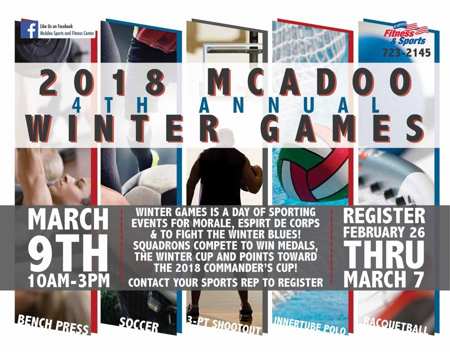 LAST DAY to register for 4th Annual Winter Games