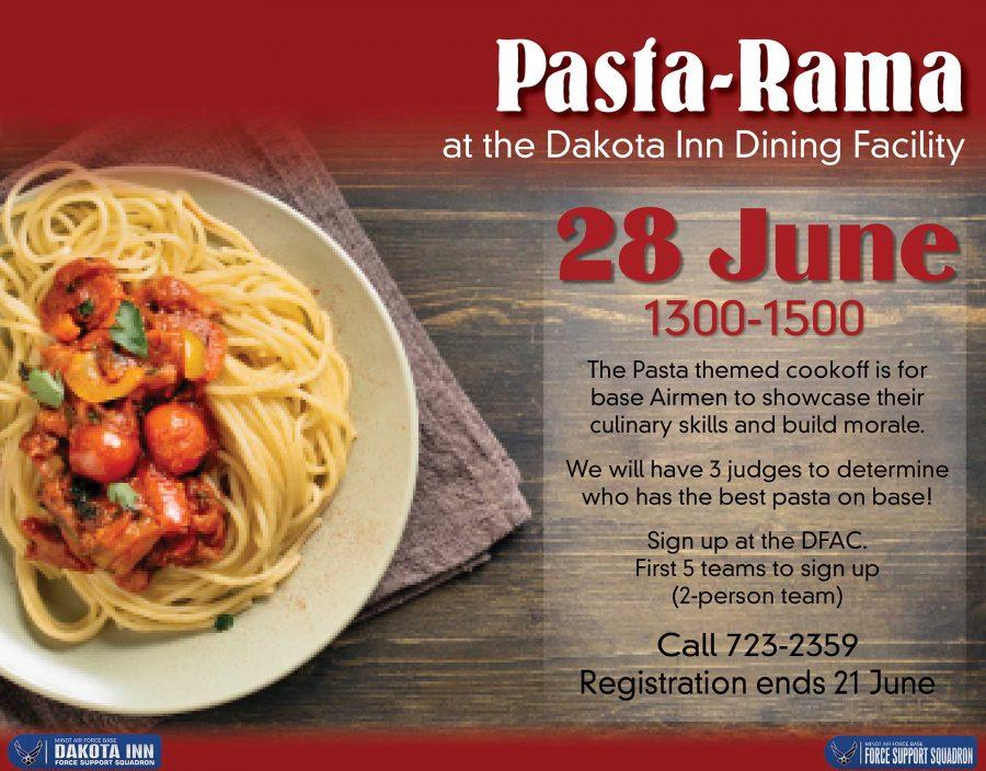 Pasta-Rama at the Dakota Inn Dining Facility