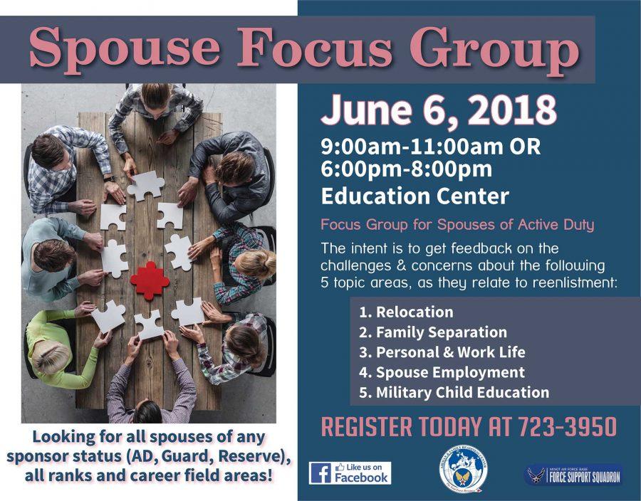 Spouse Focus Group