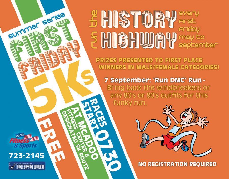 First Friday 5K - 'RUN DMC' Run