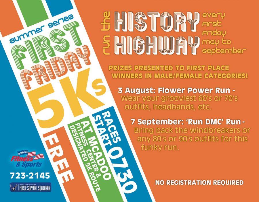 First Friday 5K - Flower Power Run