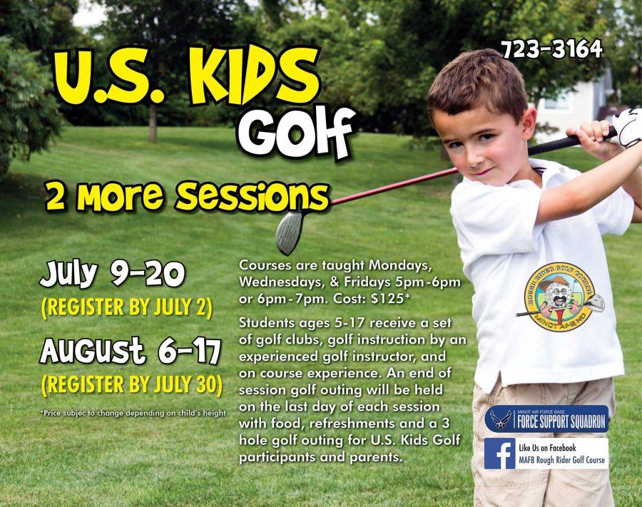 July US Kids Golf Session BEGINS