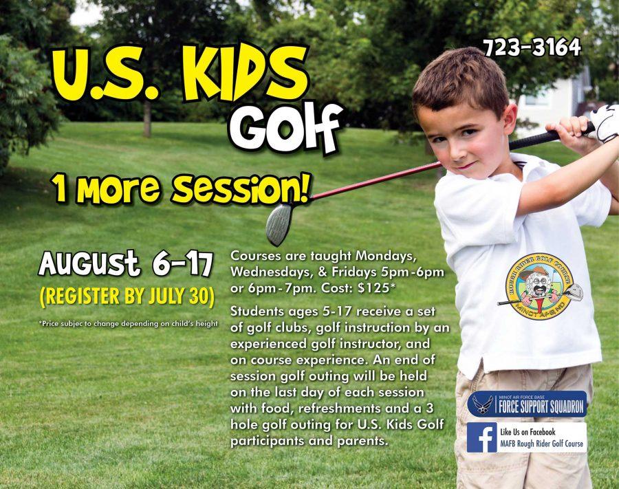 August US Kids Golf Session BEGINS