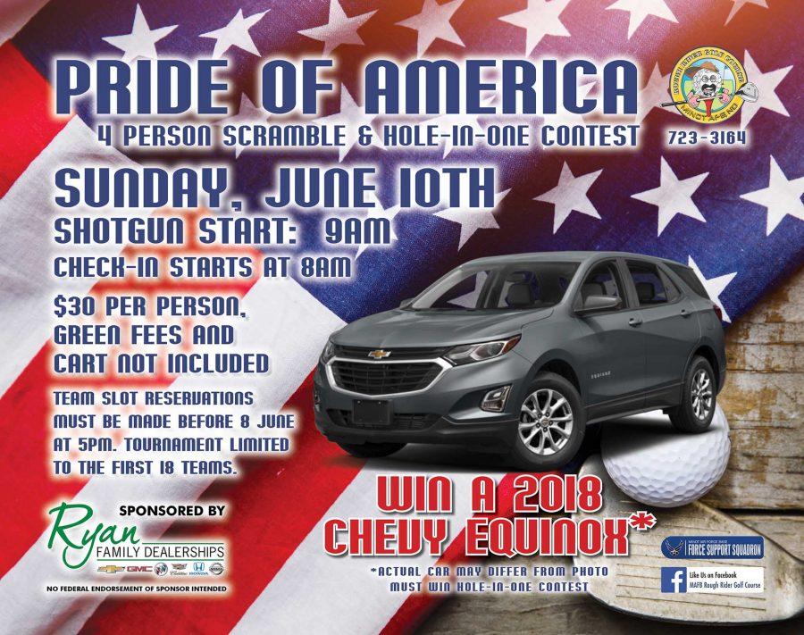 LAST DAY to Register for Pride of America Golf Scramble
