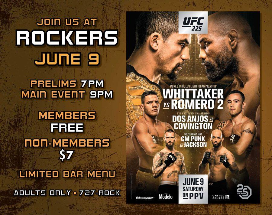 Fight Night UFC 225: WHITTAKER vs ROMERO 2