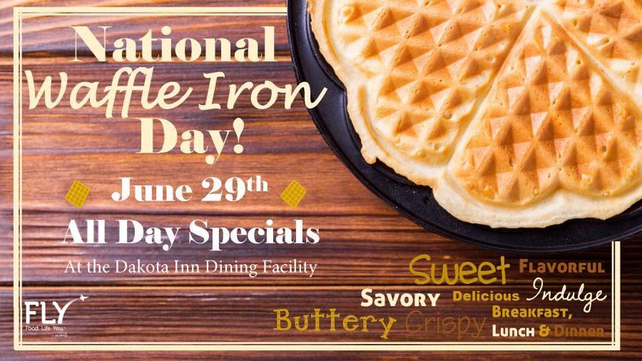 National Waffle Iron Day