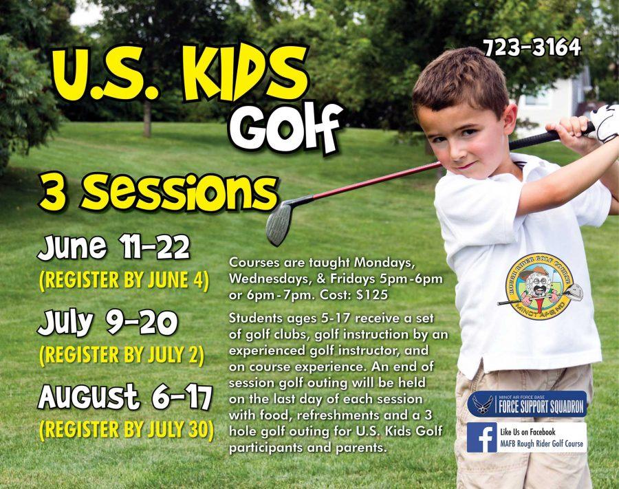 June US Kids Golf Session BEGINS