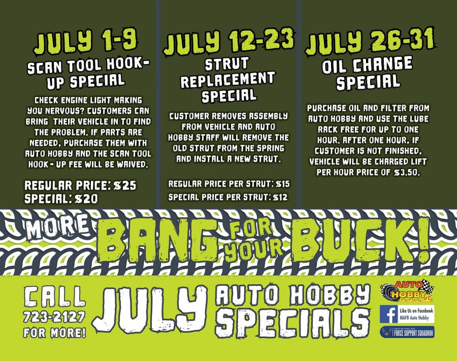 Oil Change Special begins at Auto Hobby