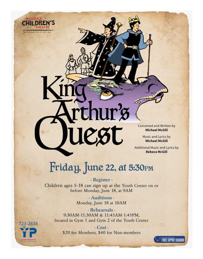 Missoula Children's Theatre - King Arthur's Quest Performance