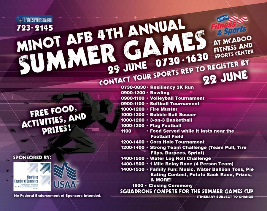 4th Annual Summer Games