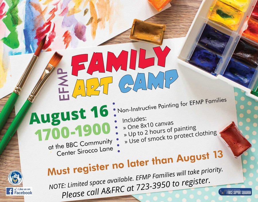 EFMP-FS Family Art Camp