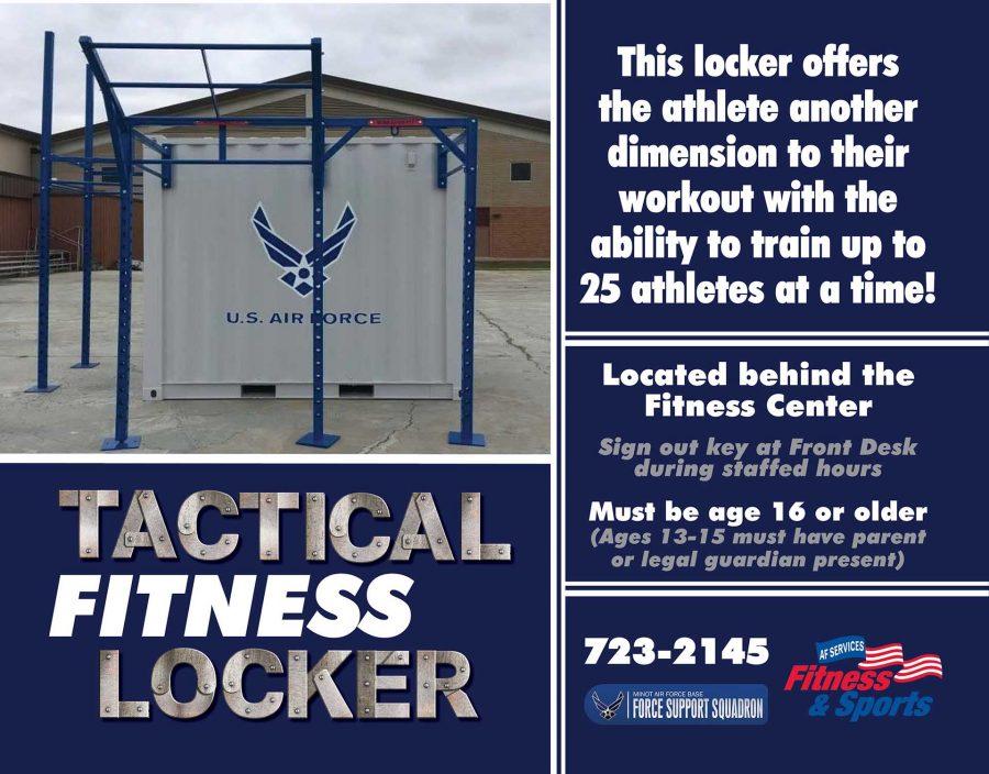 Tactical Fitness Locker - July 2018