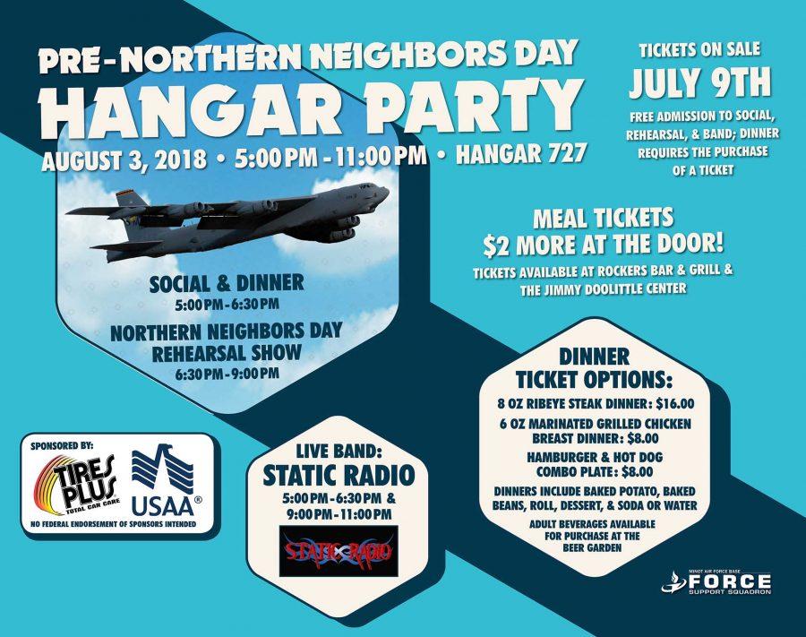 Pre-Northern Neighbors Day Hangar Party