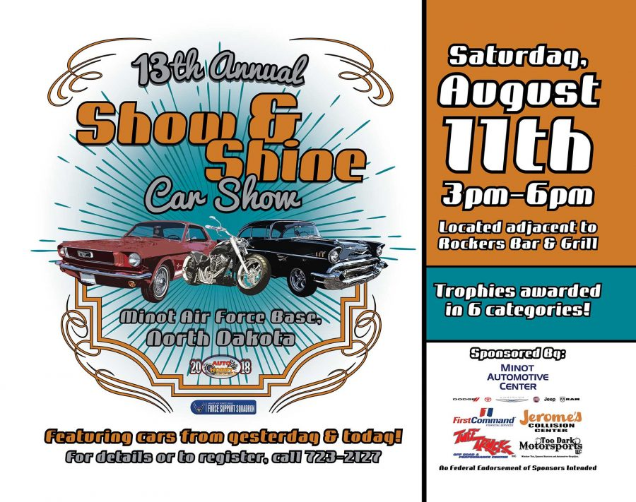 LAST DAY to Register for Show & Shine Car Show 2018