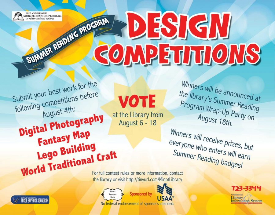 Voting for Design Competition Submissions ENDS