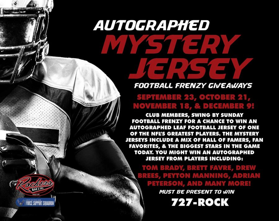 NFL Sunday Ticket Football Frenzy MYSTERY AUTOGRAPHED JERSEY GIVEAWAY