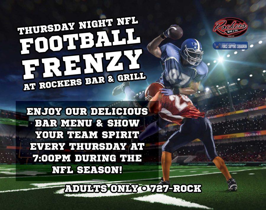 NFL Thursday Night Football Frenzy