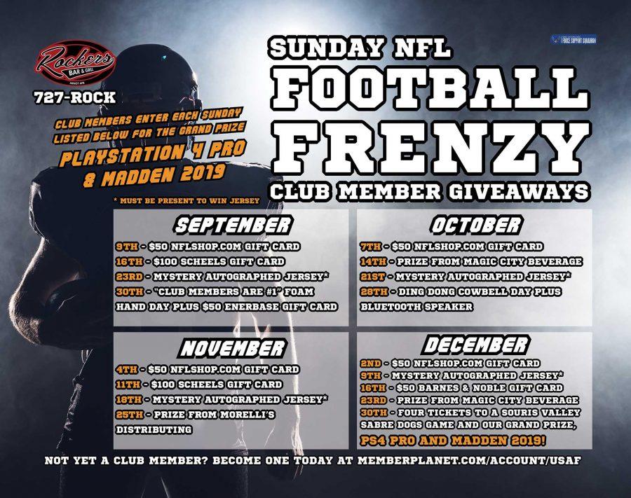 NFL Sunday Ticket Football Frenzy & SCHEELS GIVEAWAY!
