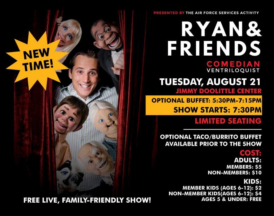 Ryan & Friends Comedian and Ventriloquist