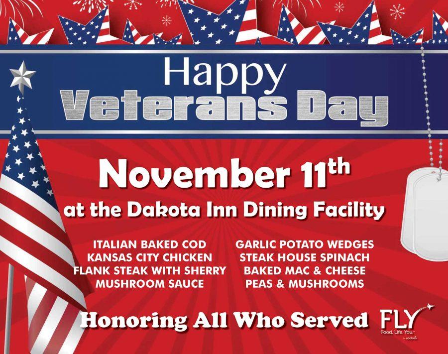 Dakota Inn Veterans Day Lunch
