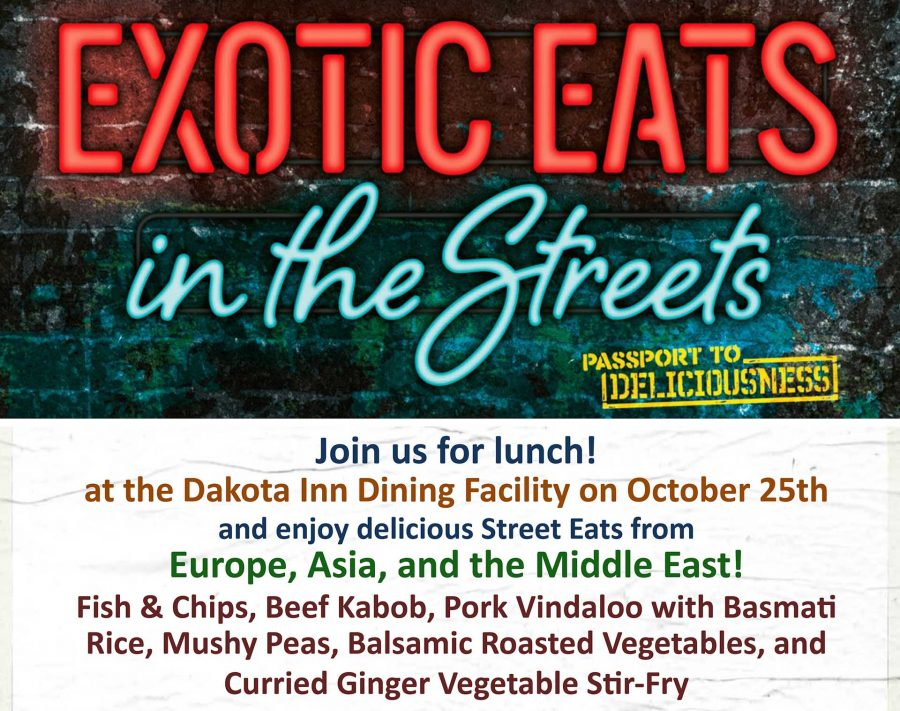 Dakota Inn Exotic Eats: Asia, Europe, Middle East Lunch Special