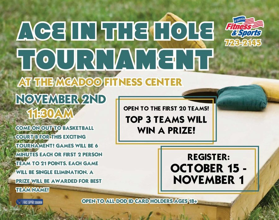 REGISTRATION OPENS for Ace in the Hole Tournament